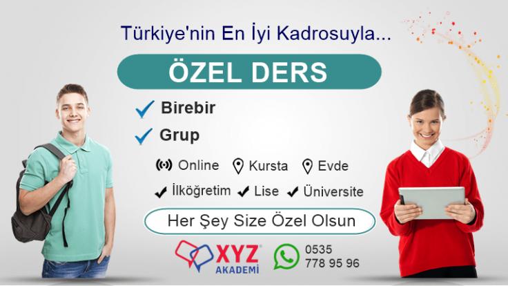 Bakırköy Özel Ders