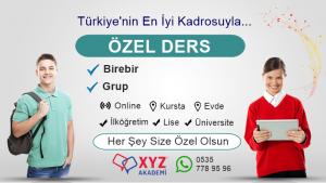 Trabzon Özel Ders